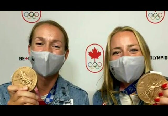 Rowers Caileigh Filmer and Hillary Janssens 'enjoying every minute' of Bronze win 1