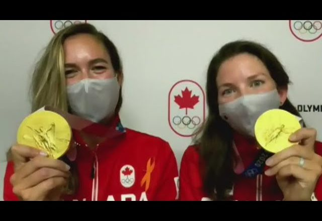 'Fairy tale ending': Gold medal winners Suzanne Grainger and Andrea Proske 1