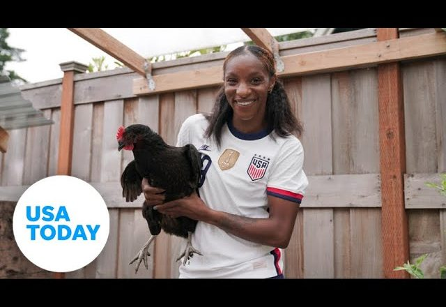 Crystal Dunn and USWNT want historic back-to-back World Cup title and Olympic gold | USA TODAY 6