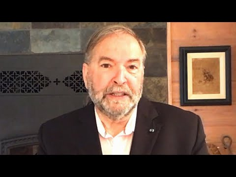 'Entirely possible': Mulcair on Tories overtaking Liberals 1