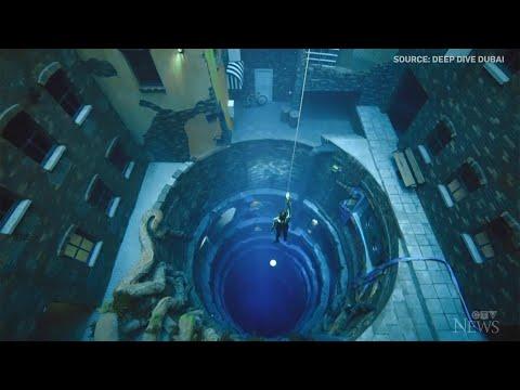 Dubai 60-metre-deep pool sets new depth record 1