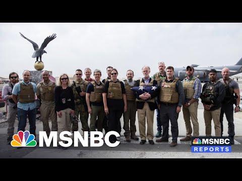 U.S. Wraps Military Operation, Diplomats Depart Afghanistan After War 8