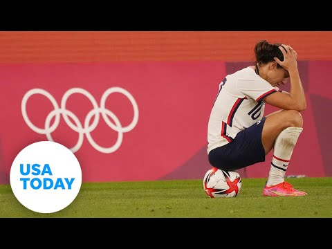 Jade Carey wins gold, USWNT knocked out; Simone Biles is back for balance beam Tuesday | USA TODAY 1