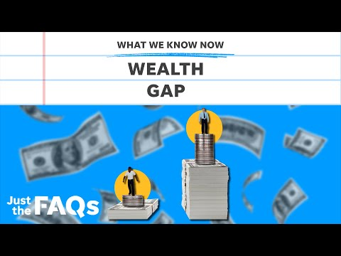 Here's how the pandemic has affected the racial wealth gap | Just the FAQs 1