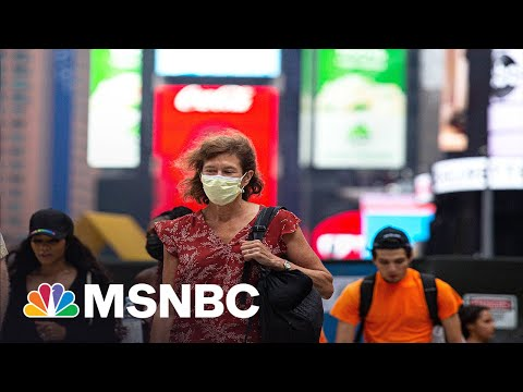 Hot Mask Summer? Americans Mask Back Up Indoors After New CDC Guidance 3