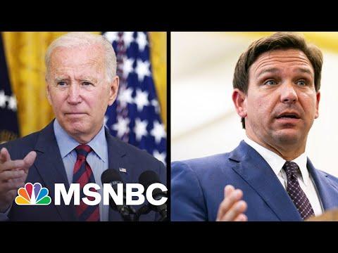 Gov. DeSantis Fundraising Off His Covid Fight With Biden 1
