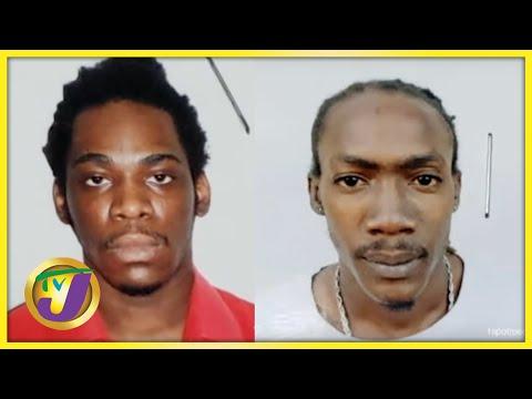 2 Prisoners Escape from Hunts Bay Police Lockup | TVJ News - August 6 2021 1