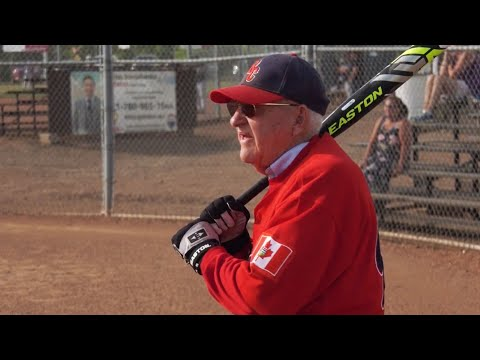 Meet the 90-year-old slugger proving you're never too old to play ball 1