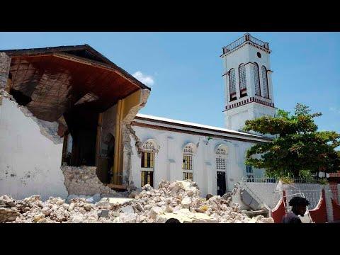At least 29 dead as earthquake strikes Haiti 1