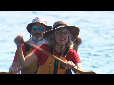 Ontario couple canoeing to new home about 500 km away 1