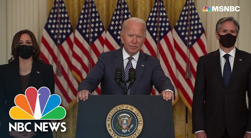 Biden Assures US Is Doing 'Everything We Can' To Evacuate Allies From Afghanistan 1