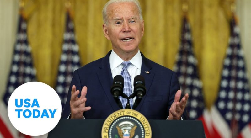 President Biden discusses evacuations from Afghanistan | USA TODAY 1