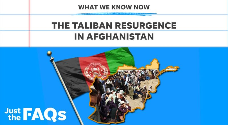 Taliban's return in Afghanistan and what it means for US involvement | Just the FAQs 1