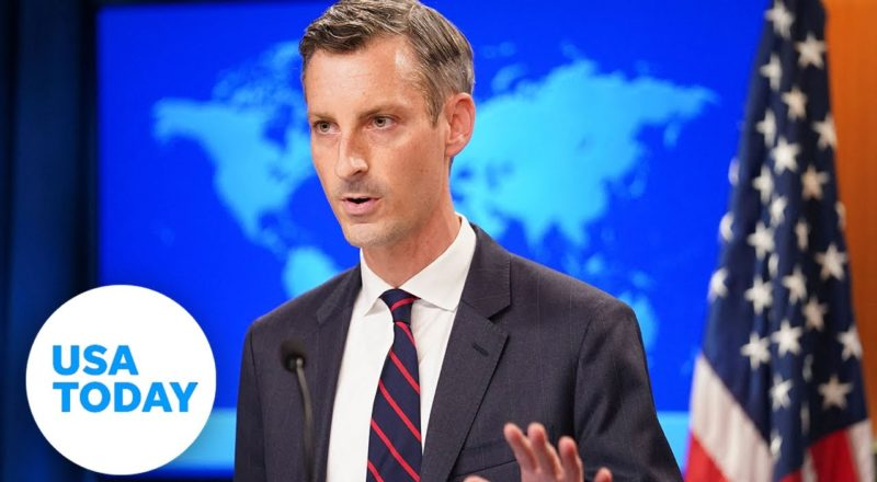 State Department gives briefing on Afghanistan evacuations   USA TODAY 1