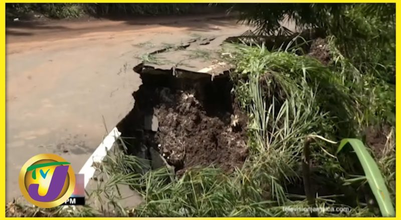 Tropical Storm Grace, the Aftermath in Savage Pen Gordon Town | TVJ News 1