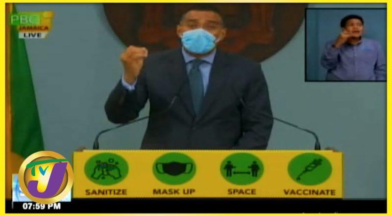 Tan a Yuh Yard | Jamaica's PM's Lockdown Message | TVJ News - August - 19 2021 1