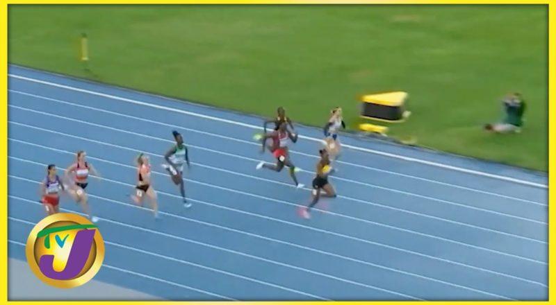 U20 Athletics Championships | Tina Clayton Wins Jamaica's 1st Medal - August 19 2021 1