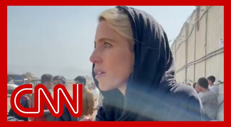 'That was a newborn baby': CNN reporter reveals dire situation at airport 1