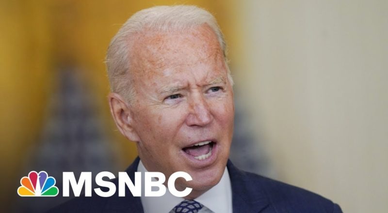 From Afghanistan To Covid, Biden Faces Most Turbulent Week In Office 1