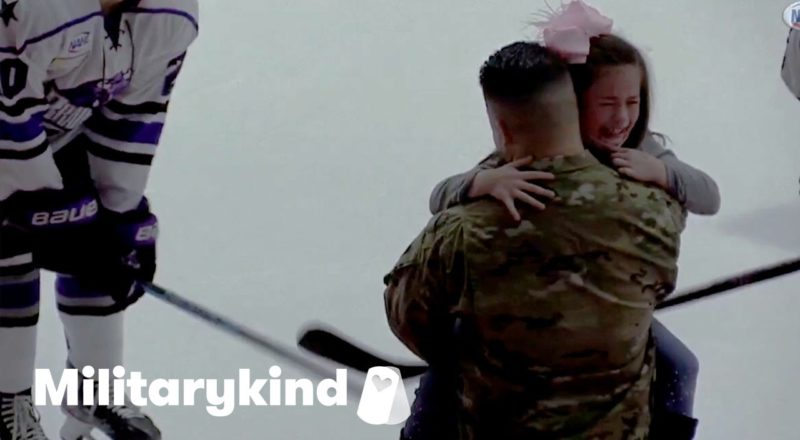 Little girl in tears when dad returns from Army | Militarykind 1