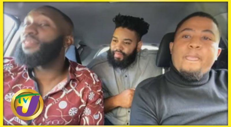 Island Kings Car Covers | Viral Voices | TVJ Smile Jamaica 1