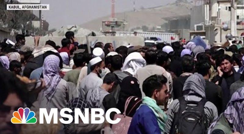 Thousands Awaiting Evacuation From Kabul 1