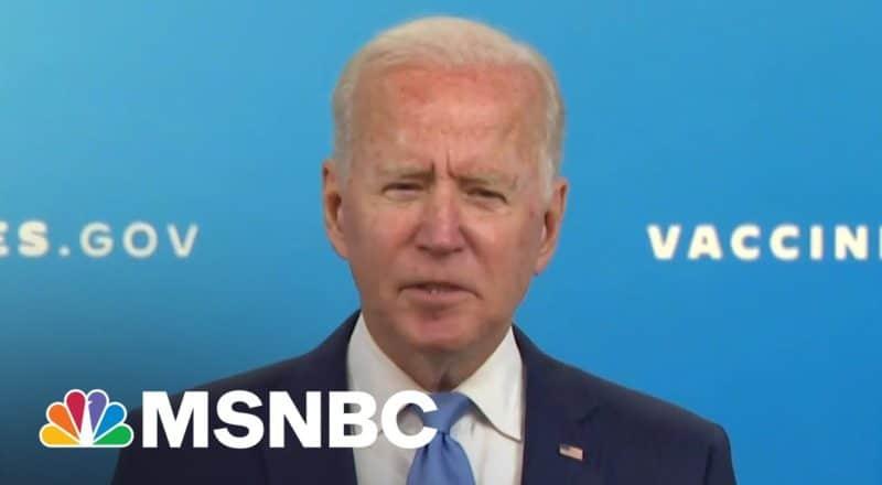President Joe Biden On FDA Approving Pfizer's Covid Vaccine 2