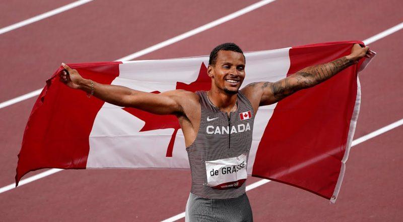 Canadian sprinter Andre De Grasse wins 200m gold in Tokyo 6