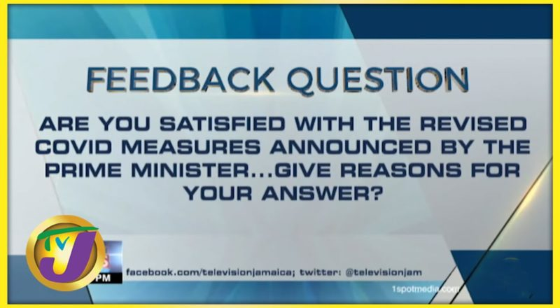 Feedback Question   TVJ News - August 20 2021 1