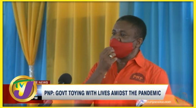 PNP: Gov't Toying with Lives Amidst the Pandemic   TVJ News - August 22 2021 1