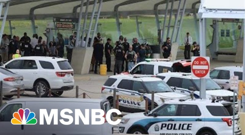 Federal Police Officer Killed In Attack At Transit Station Near Pentagon 4