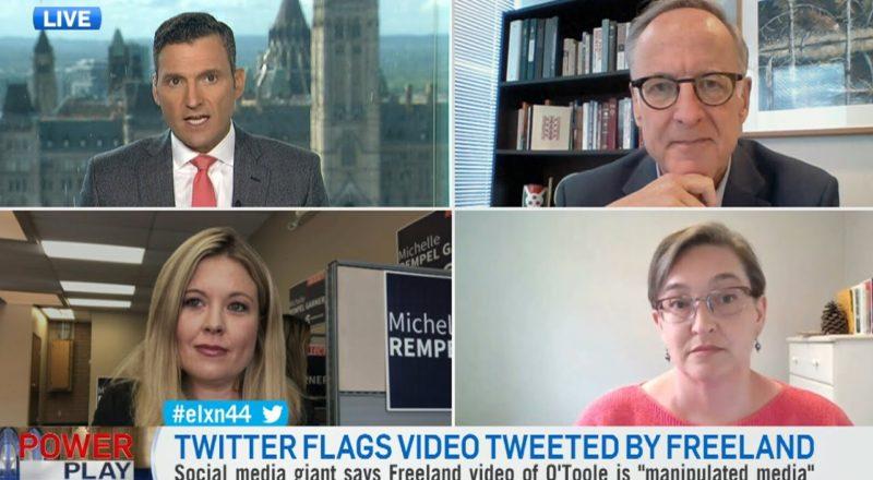 Health-care debate ignited after Twitter labels Freeland's tweet as 'manipulated media' 1