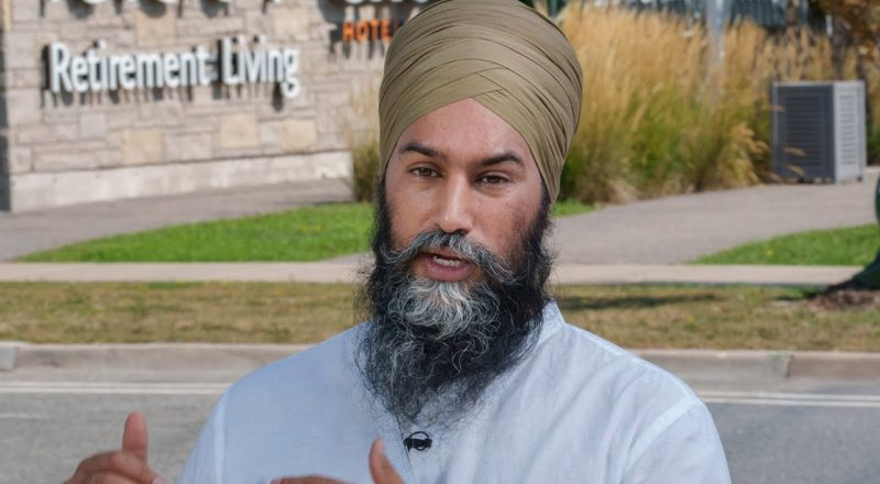 Singh pledges to end for-profit long-term care if elected 1