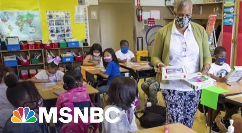 NYC Mayor Bill De Blasio On Vaccine Mandate For School Teachers And Staff 1