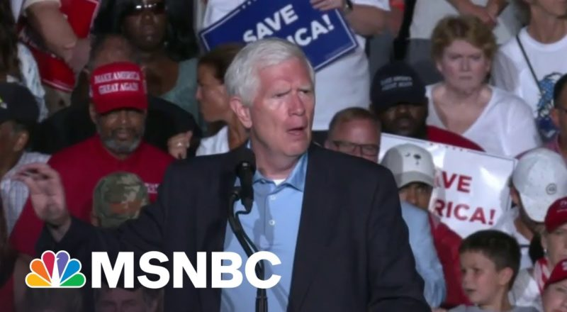 Hostile Trump Mob Sends GOP Rep. Brooks Into Panicked Backpedal On Moving On From 2020 8