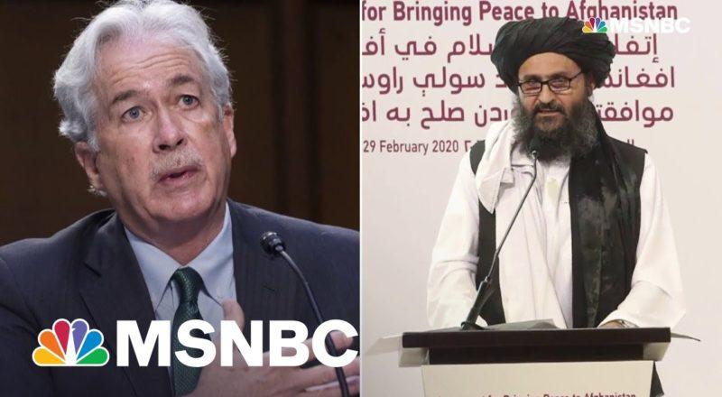 CIA Director Burns Met Face-To-Face With Taliban Leader Baradar 1