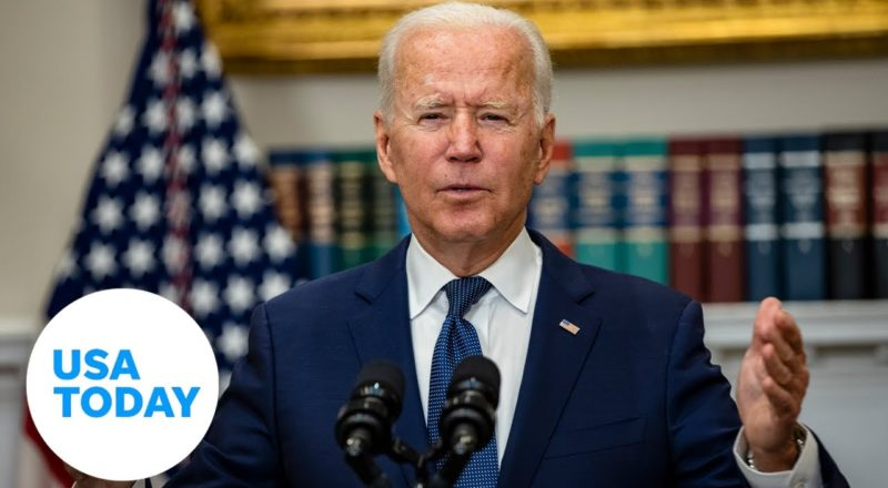 President Biden remarks on efforts in Afghanistan to evacuate American citizens USA TODAY 1