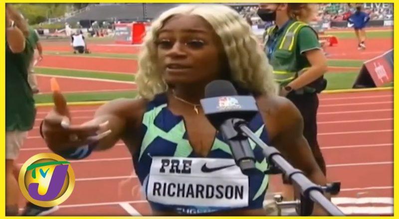 Sha'carri Richardson | TVJ Sports Commentary - August 23 2021 1
