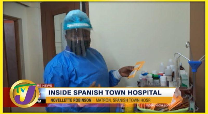 Inside Spanish Town Hospital   TVJ News - August 23 2021 1