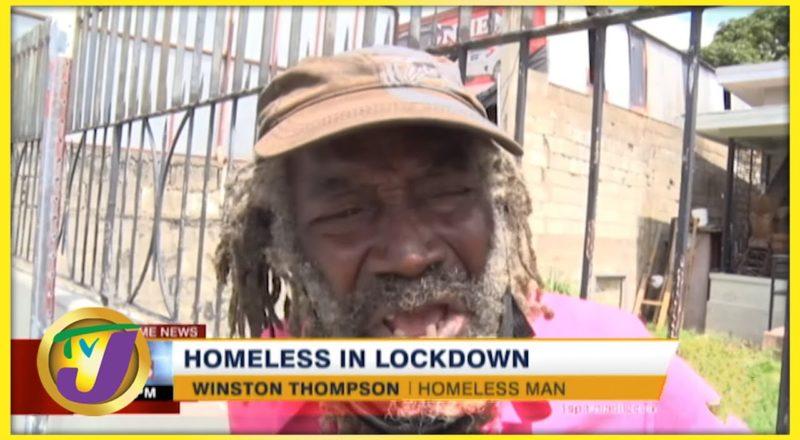Feeding the Homeless During Lockdown | TVJ News - August 23 2021 1