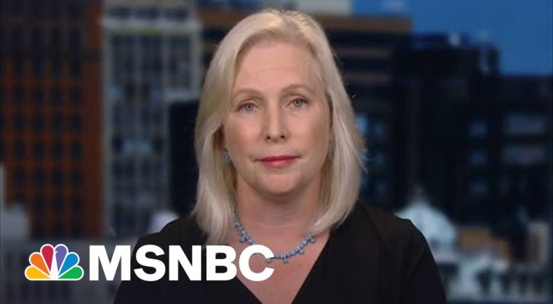 Gillibrand On Biden's Handling Of The Withdrawal From Afghanistan 1