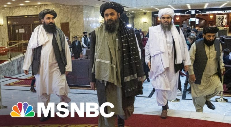 'An Incredible Full Circle Event': CIA Target Taliban Leader Freed By Trump Meets With CIA 1