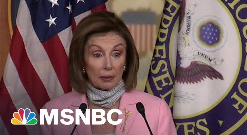 Pelosi On House Members' Kabul Visit: 'We Do Not Want Members To Go' 1