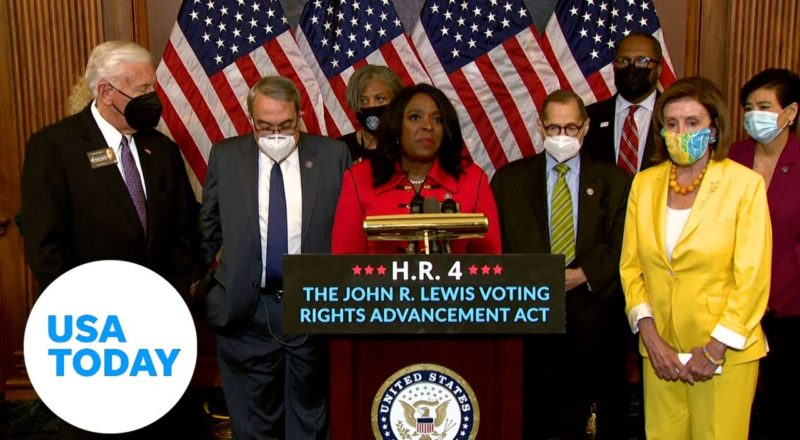 House approves John Lewis Voting Rights Act along party lines | USA TODAY 3