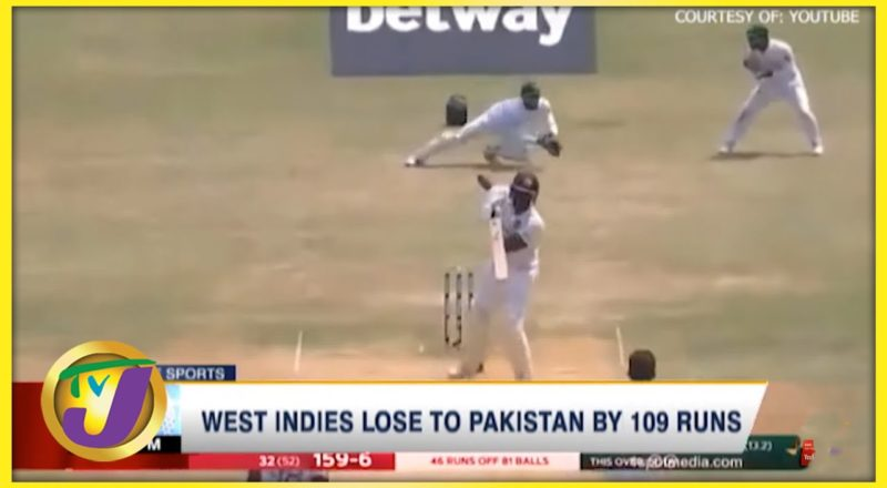 West Indies Lose to Pakistan by 109 Runs - August 24 2021 1