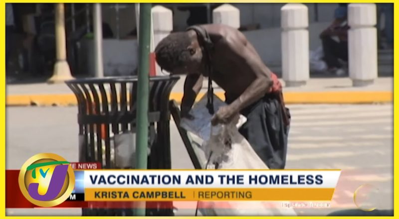 Vaccination and the Homeless in Jamaica   TVJ News - August 24 2021 1