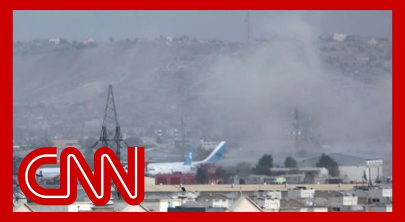 First images emerge from scene of explosion near Kabul airport 1