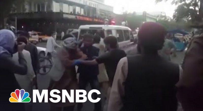 Three Marines Injured In Attack At Kabul Airport 1
