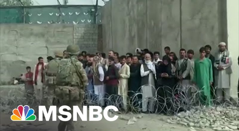 Engel Details Corridor Outside Kabul Airport, Site Of Possible Infiltration 1