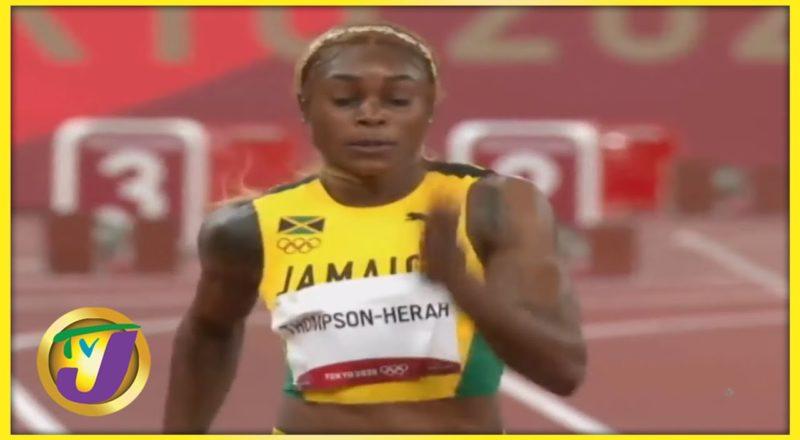 Elaine Thompson-Herah   TVJ Sports Commentary - August 25 2021 1
